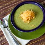 Broccoli, Cheddar and Potato Soup