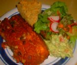 ENCHILADAS WITH SOUTHWESTERN SAUCE