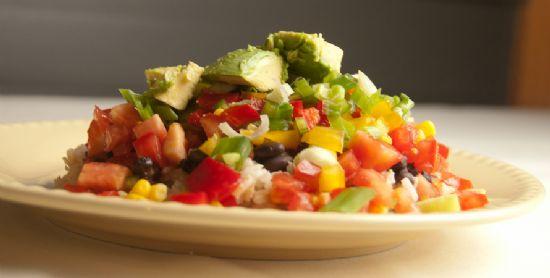 Engine 2 Diet: Black Beans & Brown Rice Extravaganza