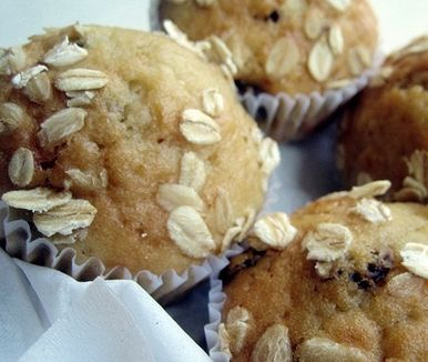 Wholesome Orange Muesli Muffins