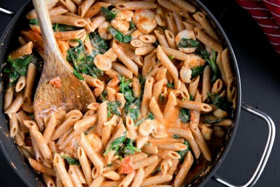 Penne rosa no meat recipe sparkrecipes forumfinder Gallery