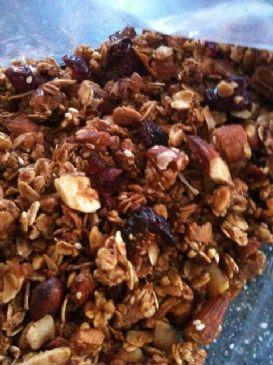Hearty & Healthy Homemade Granola