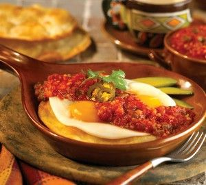 Huevos Rancheros with Salsa