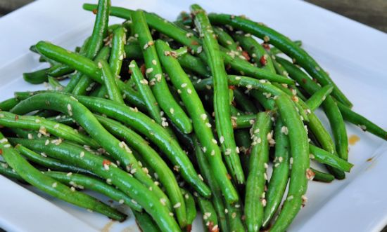 Green Bean Sesame Salad