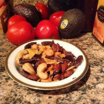 Mango Dark Chocolate Nut Snack