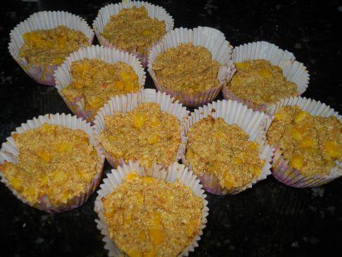 Yogurt Wheat bran Corn Muffins