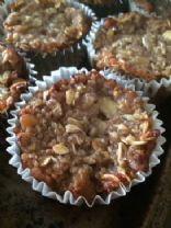 Banana Apple Quinoa muffins