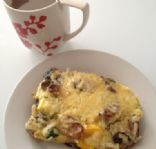 Egg and Veggies Breakfast casserole