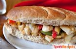 Skinny Chicken Philly Cheese Sub