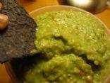 Lightened up guacamole