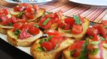 Bruschetta on Sour Dough