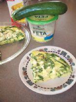 Spinach & Zucchini Egg Beater Frittata