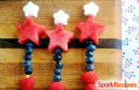 Fireworks Kabobs (Patriotic Fruit Skewers)