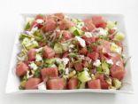 Watermelon-Cucumber Salad