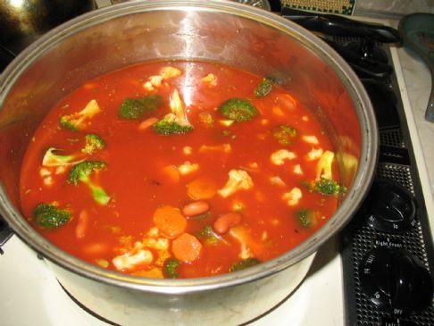 Sandy's Winter Vegetable Soup