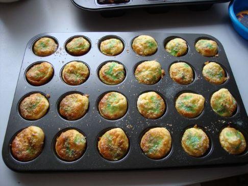 Tropical Protein mini muffins