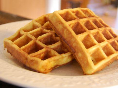 corn flour waffles