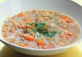High Salt/low histamine: Easy Lentil Soup with Kale