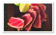 seared ahi tuna for a quick lean meal