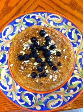 Protein Packed Oatmeal Pancake