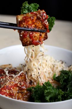 Tofu with Ramen