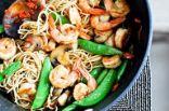 Ginger Lime Shrimp and noodles
