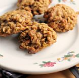 Pumpkin Oatmeal Raisin Cookies w/ Cinnamon Chips