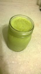 Green Apple Pie Oat Smoothie, low calorie & fiber rich