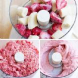 Dad's Strawberry Banana Faux Ice Cream