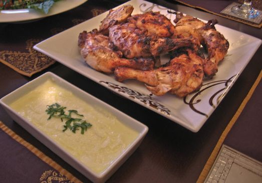 Lebanese Grilled Chicken Recipe _ Djej Mishwe.