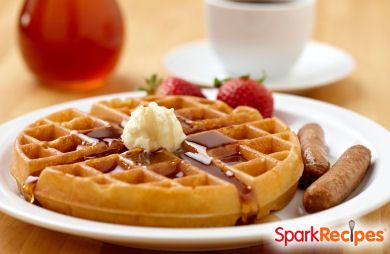 Whole-Wheat Pecan Waffles or Pancakes