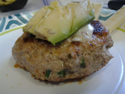 Pepper Jack Turkey Burger
