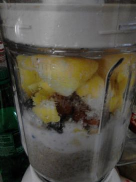 Mixed Berry Banana Mango Smoothie