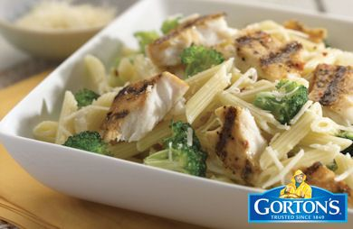 Grilled Tilapia Broccoli Penne from Gorton's