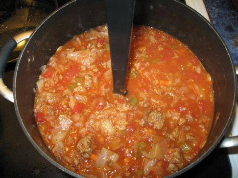 lebanese cabbage roll soup