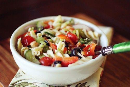 Loaded Pasta Salad!