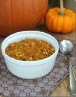 Baked Pumpkin Pecan Oatmeal