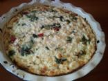 Reduced fat Spinach and Feta Frittata