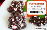 Peppermint-Dark Chocolate Slice and Bake Cookies