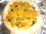 Tortilla Veggie Pizza