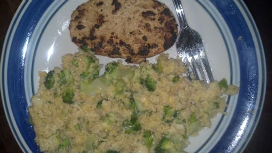 Broccoli & Cheese Couscous Dinner