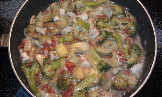Sweet and Salty Pineaplle Chicken