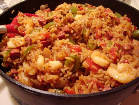 Jambalaya low fathigh protein recipe sparkrecipes forumfinder Gallery