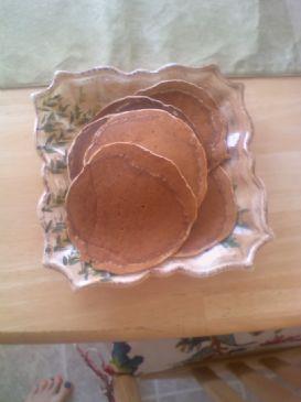 Wheat Bran Pancakes