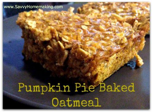 Pumpkin Baked Oatmeal Recipes | SparkRecipes
