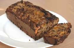 Apple Bran Flax Loaf
