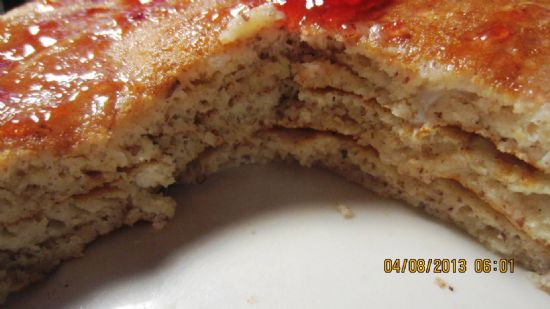 Pancakes with Flaxseed