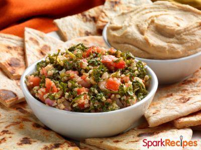 Whole-Wheat Pita Chips