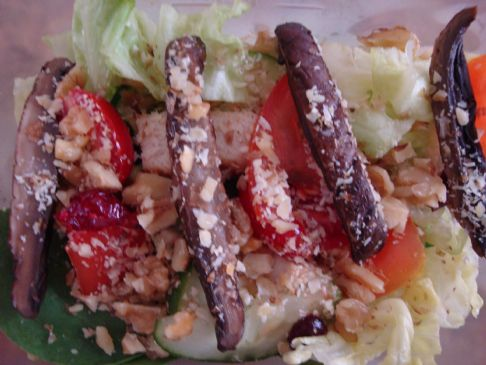 Sweet and Savory Grilled Chicken Salad