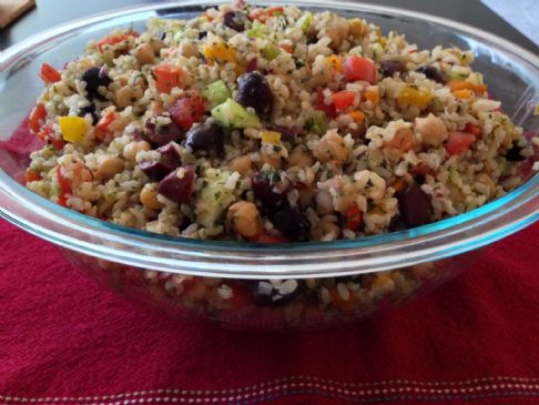 ADL Chickpea and Rice Salad